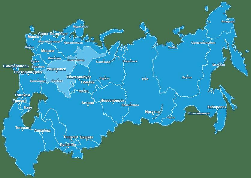 St Petersburg Moscow Ulyanovsk
